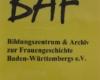 baf Plakat Herzlich willkommen