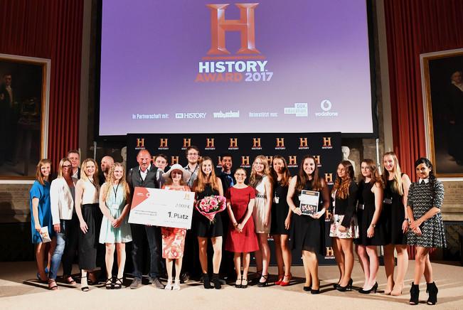 Video mit baf-Beteiligung sichert sich Platz beim History-Award
