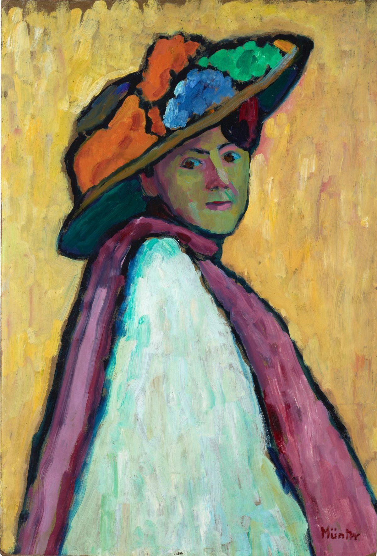 Bildnis Marianne von Werefkin, 1909