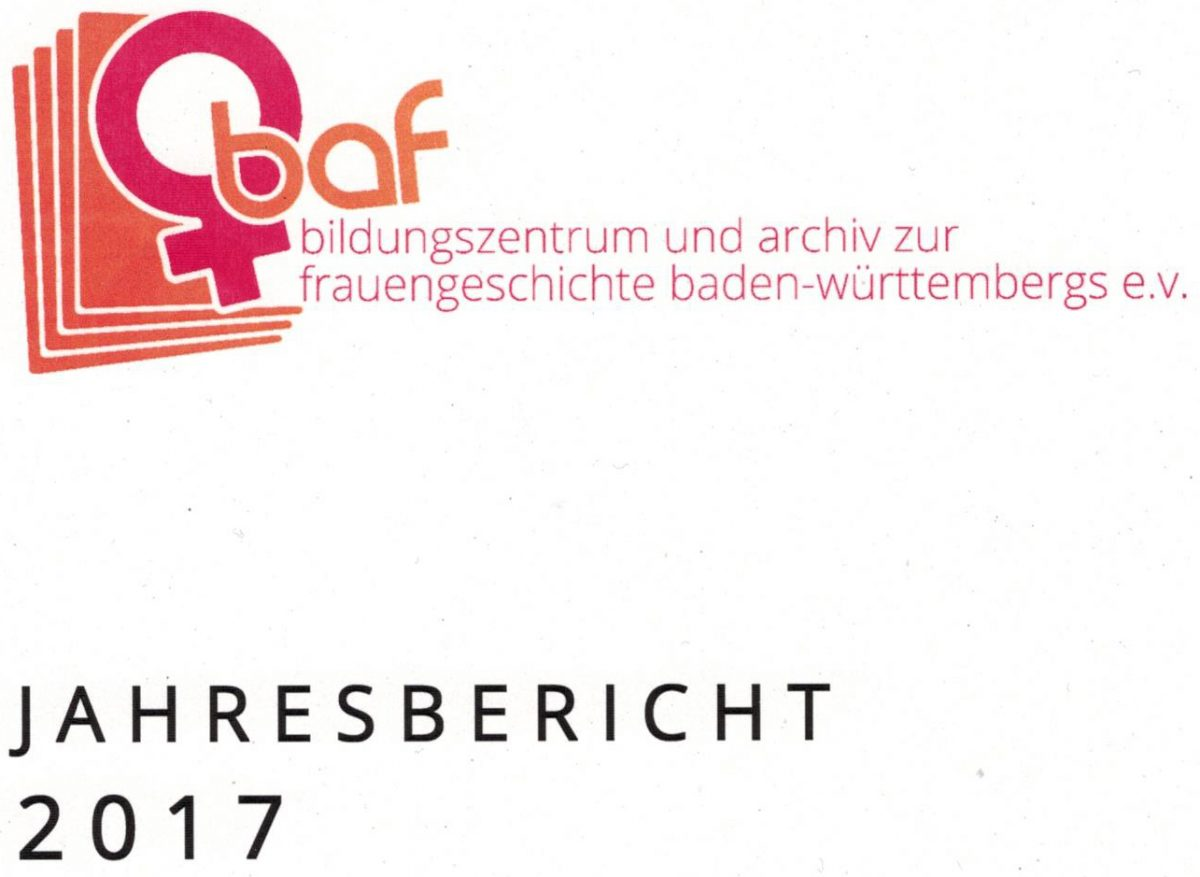 Jahresbericht 2017 von baf e.V.