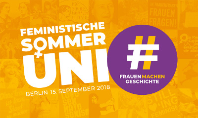 Feministische Sommeruni: baf e.V. ist dabei – und Sie/Du?