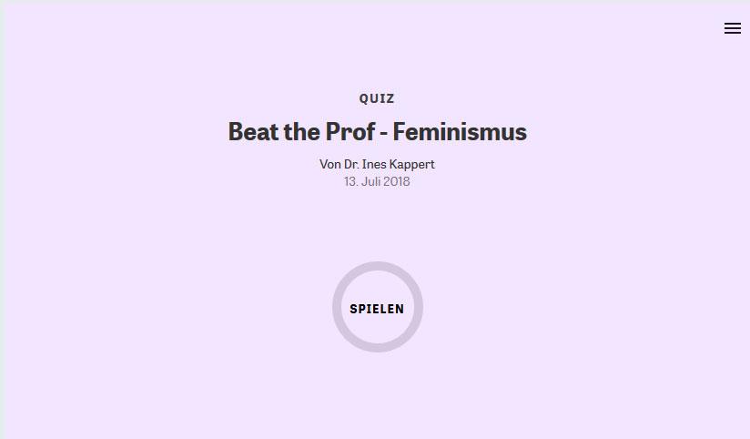 Tomaten – Feminismus? Feminismus – Tomaten?