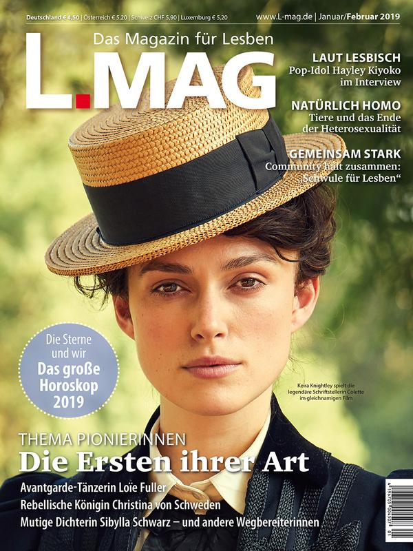 Prof. Monika Barz in der aktuellen Ausgabe von L.MAG