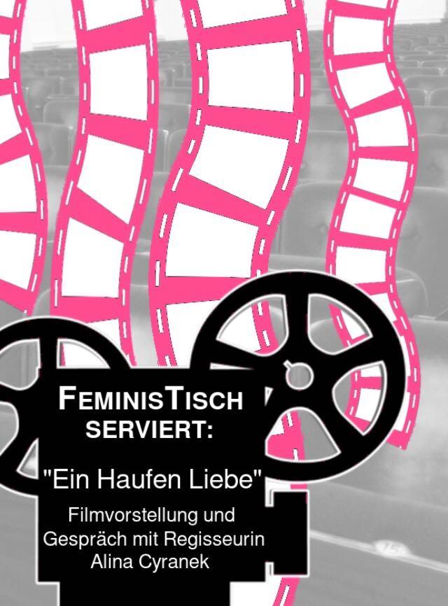 """Einladung zum Film """"Ein Haufen Liebe"""" am Sonntag, den 14. April 2019 um 18 Uhr in der Begegnungsstätte Hirsch"""