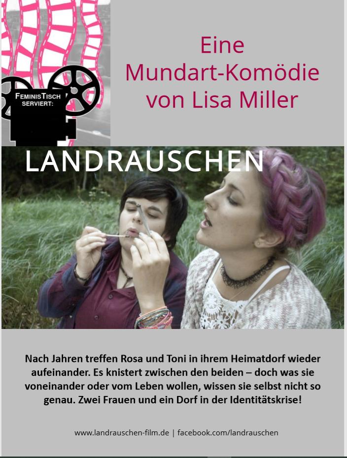 """Filmabend mit der Mundartkomödie """"Landrauschen"""" am 5. 12. um 19 Uhr in der Begegnungsstätte Hirsch"""