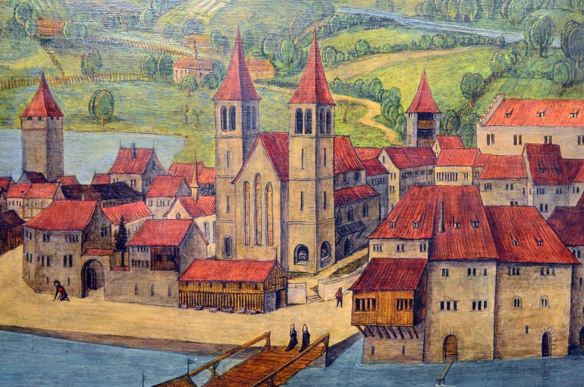Plakat-Ausstellung bei baf: Mystik, Macht und Maultaschen – Nonnen im Mittelalter