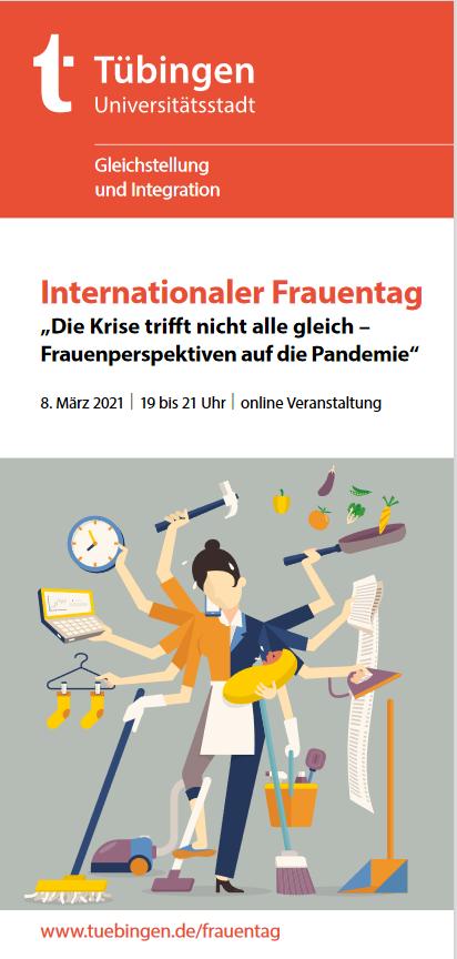 Online-Veranstaltung zum Internationalen Frauentag am 8. März